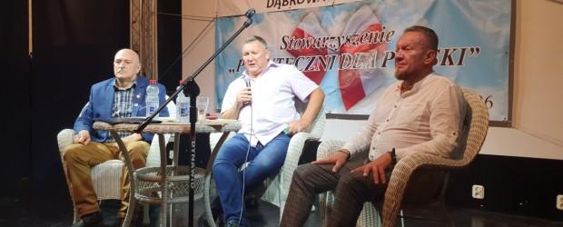 Dąbrowa Górnicza II: Spotkanie z komisarzem Jackiem Wroną