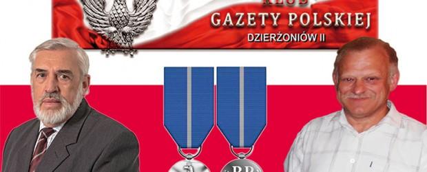 DZIERŻONIÓW II | Nasi Klubowicze odznaczeni Medalem Stulecia Odzyskanej Niepodległości