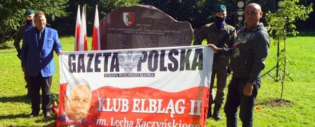 Elbląg II: Kadyny – odsłonięcie obelisku poświęconemu pomordowanym w Katyniu polskich bohaterów