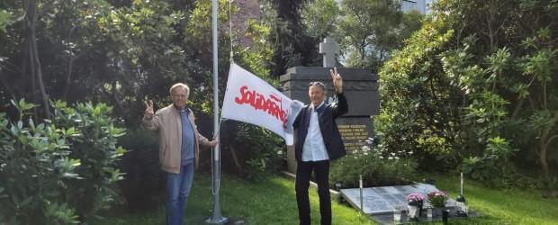Oslo: Uczczenie 40 lecia Solidarności