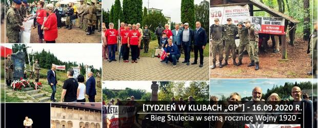 """[Tydzień w Klubach """"GP""""] Bieg Stulecia w setną rocznicę Wojny 1920"""