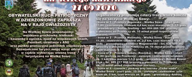 Dzierżoniów II: Zaproszenie na V Rajd Gwiaździsty im Jerzego Kaszyńskiego – 27.09