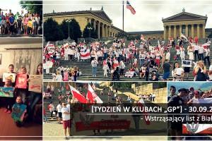 """[Tydzień w Klubach """"GP""""] Wstrząsający list z Białorusi"""