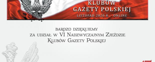 """Za nami VI Nadzwyczajny Zjazd Klubów """"Gazety Polskiej""""! ZOBACZ najważniejsze momenty"""