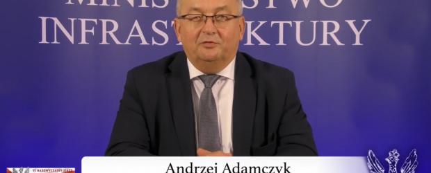 Minister Andrzej Adamczyk do klubowiczów Gazety Polskiej (wideo)