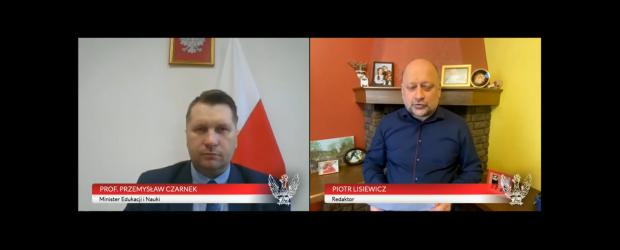 Misja szkoły w wychowaniu dzieci i młodzieży – Prof. Przemysław Czarnek – Minister Edukacji i Nauki (wideo)