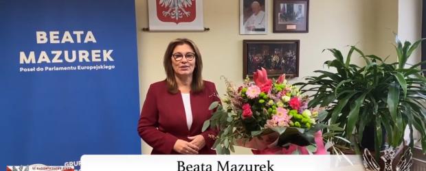 """Beata Mazurek dla Klubowiczów """"Gazety Polskiej"""" (wideo)"""