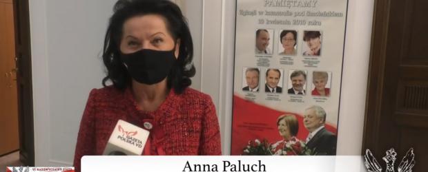 """Poseł Anna Paluch / Dla klubowiczów """"Gazety Polskiej"""" nie ma trudności nie do pokonania (wideo)"""