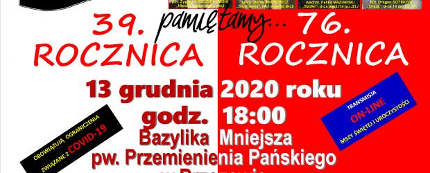 BRZOZÓW | Zaproszenie – Dzień Pamięci Ofiar Stanu Wojennego. 13 grudnia godz. 18:00