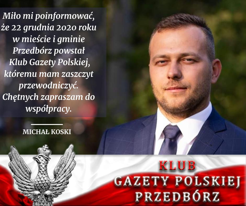 Klub GP w Przedborzu Michał Koski