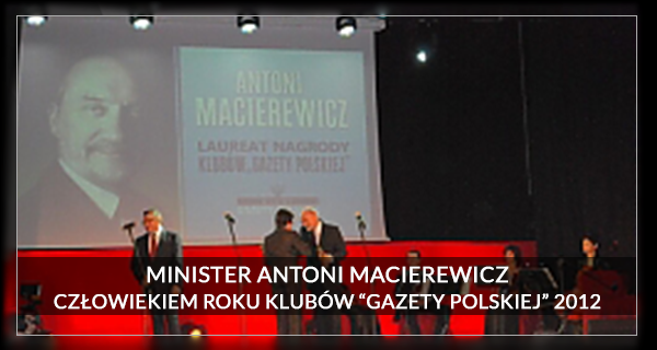 2012 Człowiek Roku - Antoni Macierewicz