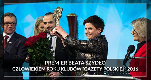 2016 Człowiek Roku Beata Szydło