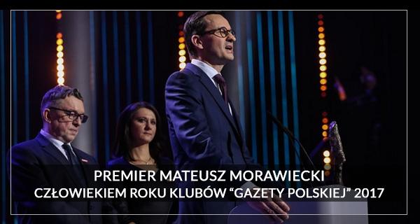 2017 Człowiek Roku Mateusz Morawiecki