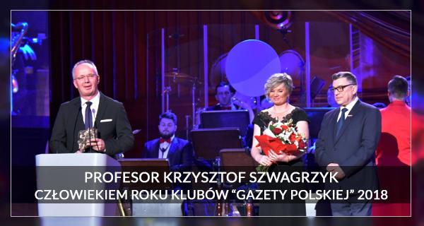 2018 Człowiek Roku Krzysztof Szwagrzyk