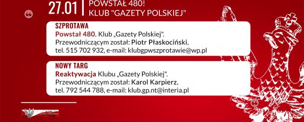 """Szprotawa – powstał 480. Klub """"GP, przewodniczącym został: Piotr Płaskociński"""