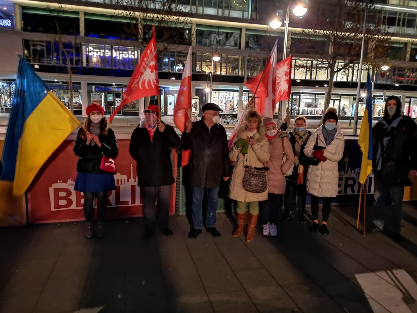 Berlin Brandenburg protest