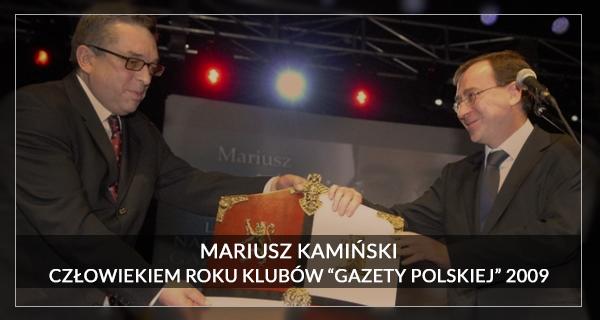 Człowiek Roku 2009 Mariusz Kamiński