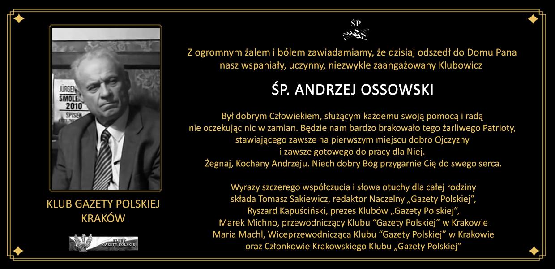 Nekrolog - Kraków