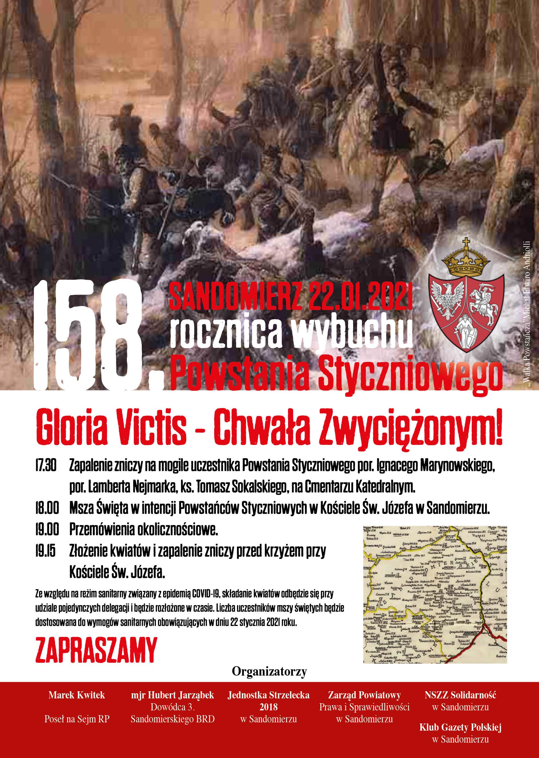 Plakat Powstanie Styczniowe2