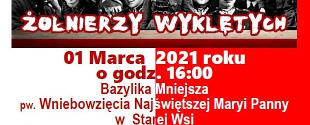 BRZOZÓW | Zaproszenie na uroczystości Narodowego Dnia Pamięci Żołnierzy Wyklętych | 1.03 godz. 16:00