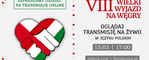 VIII Wielki Wyjazd na Węgry | Zapraszamy dzisiaj o godz. 17:00