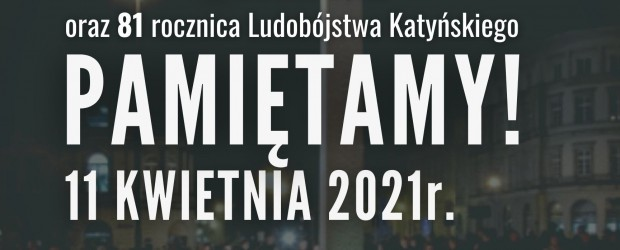 USA | Zaproszenie na obchody 11 rocznicy Katastrofy Smoleńskiej oraz 81 rocznicy Ludobójstwa Katyńskiego | 11.04 GODZ 11:30 am
