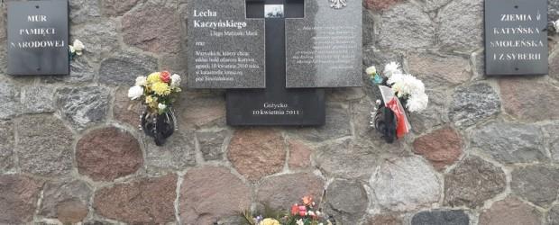 GIŻYCKO | 11. Rocznica Tragedii nad Smoleńskiem
