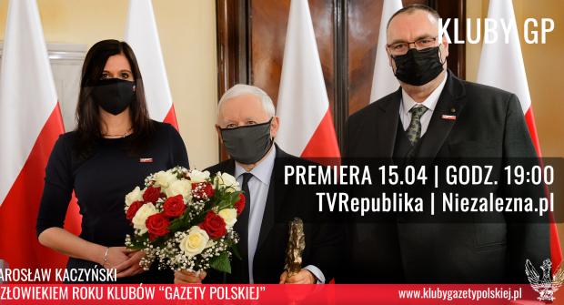 """Jarosław Kaczyński: """"To piękna chwila w moim życiu"""". JUŻ JUTRO premiera Gali """"Gazety Polskiej""""!"""