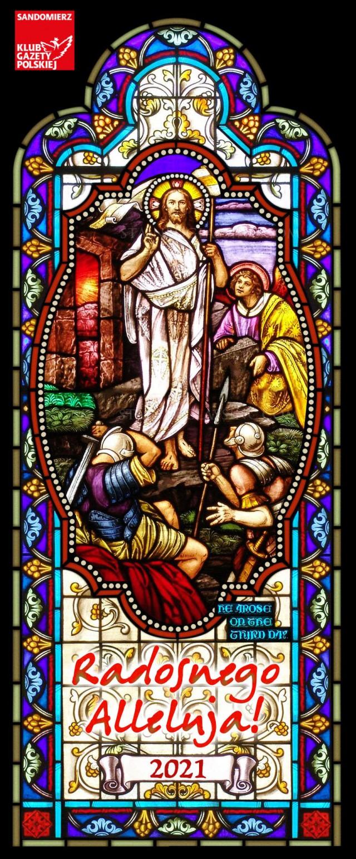 Wielkanoc witraz