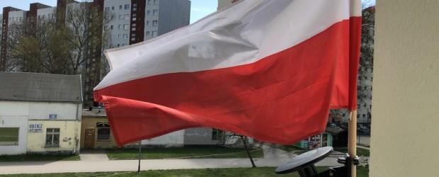 ELBLĄG   Święto 1 Maja, Dzień Flagi i Święto Konstytucji 3 Maja.