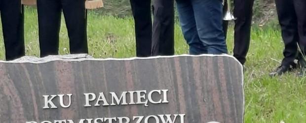 JASTRZĘBIE-ZDRÓJ   120 rocznica urodzin rotmistrza Witolda Pileckiego oraz 5-lecia odsłonięcia pamiątkowej tablicy