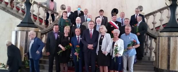 TYCHY |Wręczenie Krzyża Wolności i Solidarności Wojciechowi Jabłońskiemu.