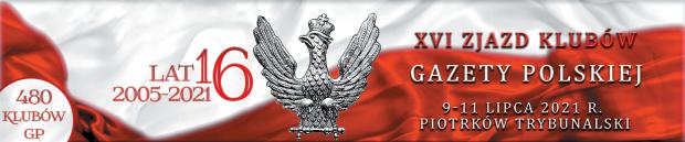 Banner okolicznościowy, numer 50x10 I Sulejów XVI Z 2021
