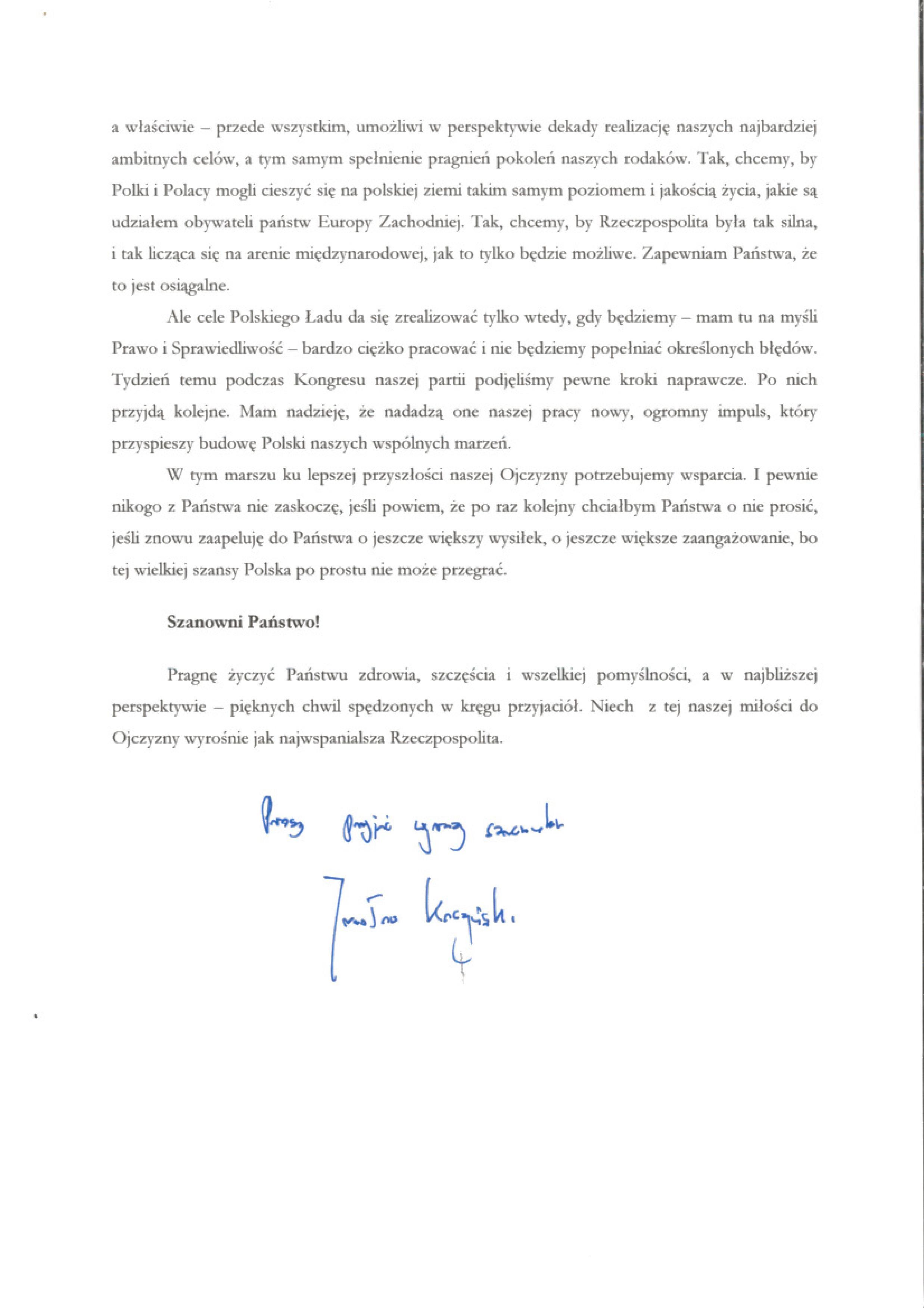 Kaczyński List_2