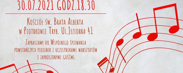 ZAPROSZENIE | Powstanie Piosenką Pisane – 30.07 godz. 18.30. Zapraszamy do wspólnego śpiewania!