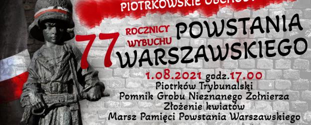 ZAPROSZENIE – PIOTRKÓW TRYB. | Obchody 77 rocznicy Powstania Warszawskiego.
