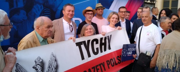 TYCHY | Wizyta premiera Mateusza Morawieckiego