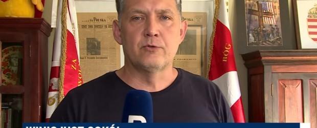 (wideo) BRANIEWO | Manifestacja #PoStroniePolski – zaprasza Winicjusz Sokół