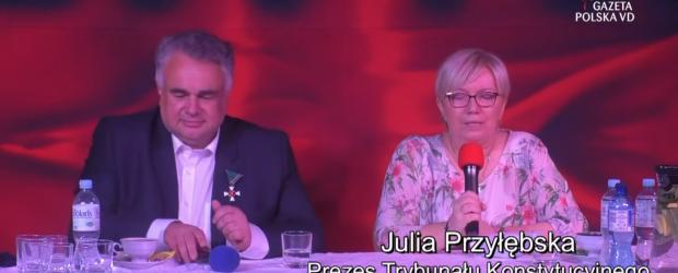 Prezes TK Julia Przyłębska: jest tak wielka skala hejtu na mnie, że nie wychodzę nawet do sklepu