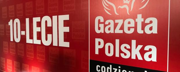 """VOD GP   """"Gazeta Polska Codziennie"""" obchodzi swoje 10-lecie. (wideo)"""