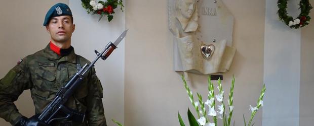 """GOSTYNIN   75 rocznica wykonania wyroku na Danucie Siedzikównie """"Ince"""" przez komunistyczny sąd w Gdańsku."""