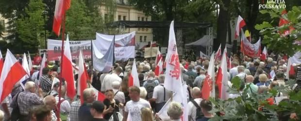 """(wideo)   """"Po stronie Polski"""". Adam Borowski: suwerenność nie jest dana raz na zawsze"""