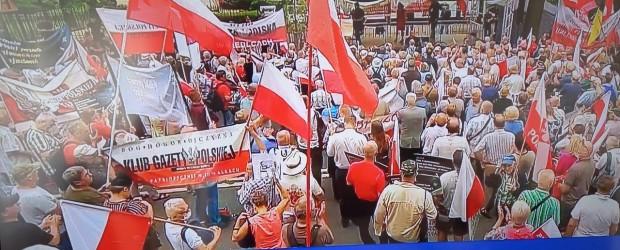 SUWAŁKI | Manifestacja #PoStroniePolski
