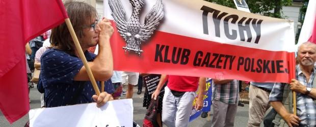 TYCHY | Manifestacja #PoStroniePolski