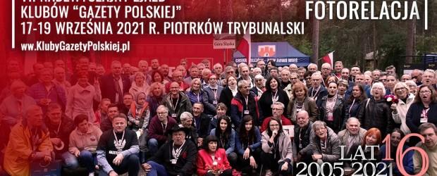 """FOTOGALERIA + WIDEO   VII Nadzwyczajny Zjazd Klubów """"Gazety Polskiej"""" – Piotrków Trybunalski 2021 r. (DUŻO ZDJĘĆ)"""