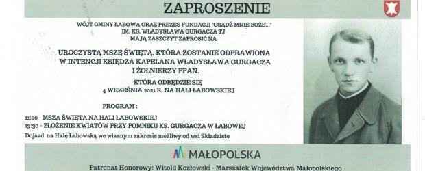 NOWY SĄCZ im. J. Olszewskiego | Zaproszenie Msza na Hali Łabowskiej i pogrzeb Władysława Gurgacza Z zewnątrz