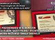 """Wręczenie dyplomów dla Prezesa Ryszarda Kapuścińskiego oraz Red.Nacz. Tomasza Sakiewicza na 16-lecie Klubów """"Gazety Polskiej"""" oraz podziękowania od Klubowiczów (wideo)"""