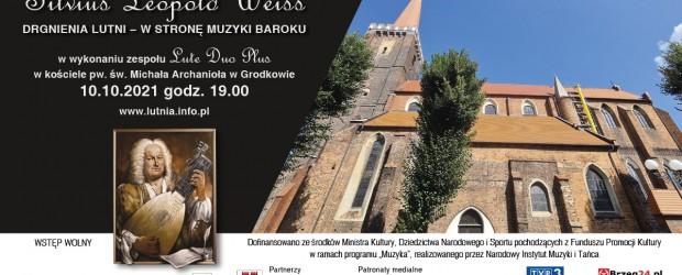 GRODKÓW | ZAPROSZENIE na koncerty Silviusa Leopolda Weissa  9-10 października