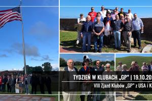 """TYDZIEŃ W KLUBACH """"GP""""   VIII Zjazd Klubów """"GP"""" z USA i Kanady"""