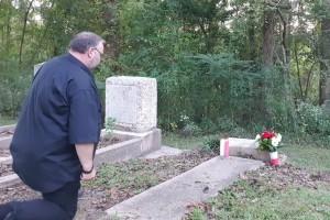 Cmentarz przy Pine Ridge Presbyterian Church w Natchez w Mississippi.